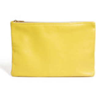 American Apparel Leather Clutch Bag- €56