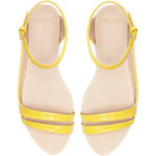 Zara Asymmetric Flat Sandals- €15