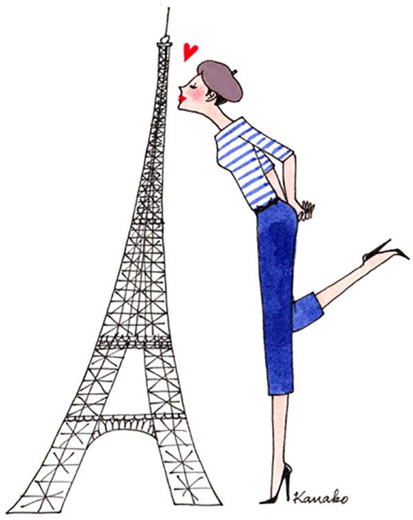 FYP Loves Kanako The Japanese Illustrator for My Little Paris!