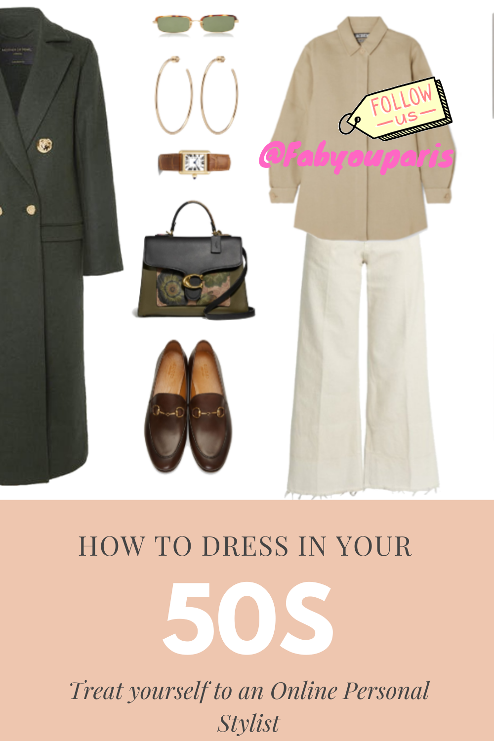how to dress your 50